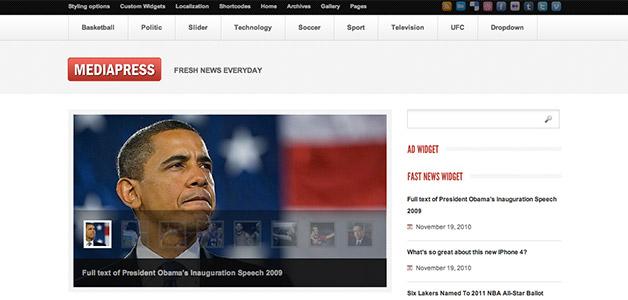 Mediapress Theme