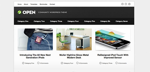 Open WordPress Community Theme