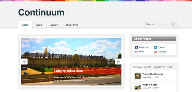 Continuum Mag Theme
