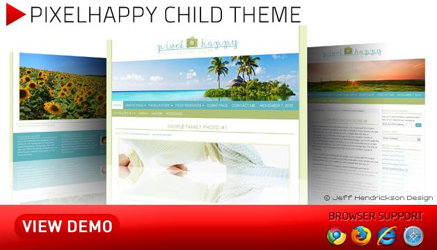 Pixelhappy Theme by Studiopress