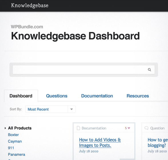 Knowledgebase WP Theme