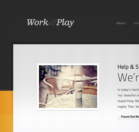 Work & Play Theme